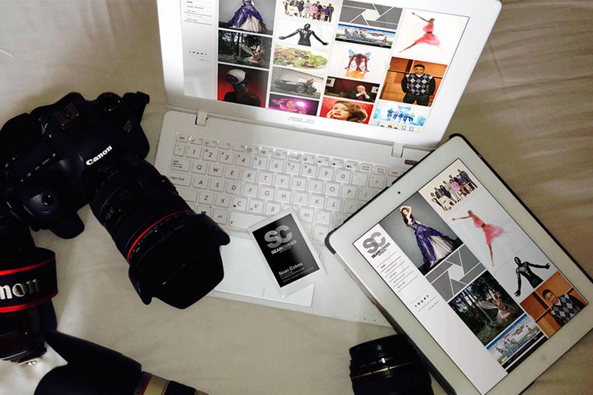 branding web design for photographer