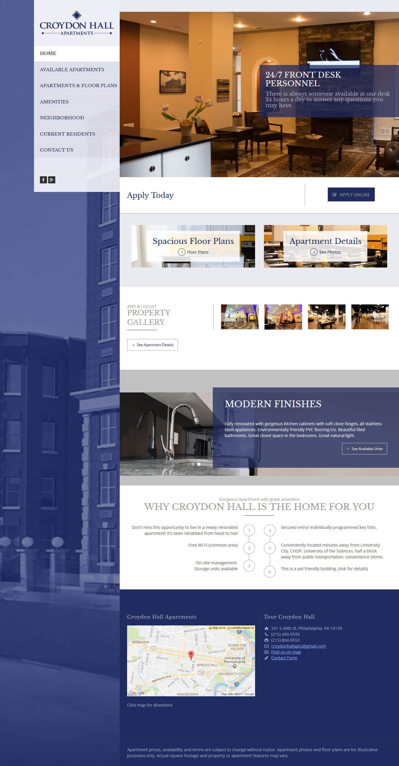 Apartment-Complex-Web-Design » BMJ Creative Group
